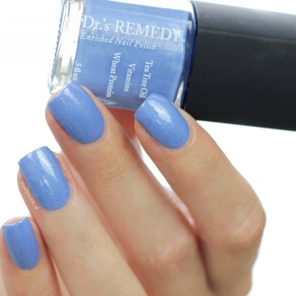 Dr.\'s Remedy Makeup | Drs Remedy Enriched Nail Polish Bountiful Blue ...